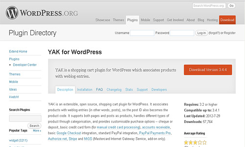 yak-for-wordpress