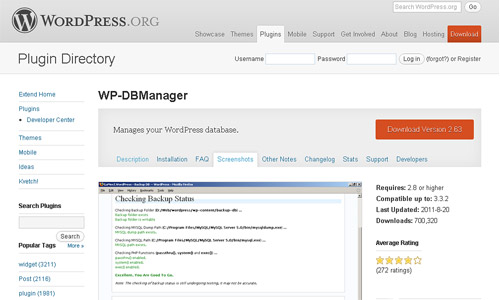 wp-db-manager