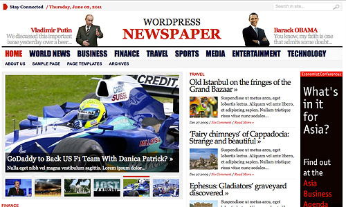 advacned newspaper wordpress theme