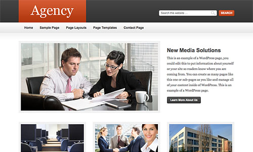 agency child wordpress theme