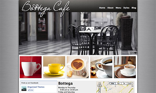 bottega wordpress theme