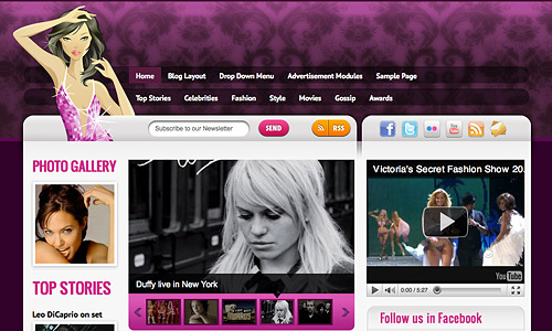 celebritypress wordpress theme