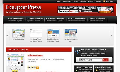 couponpress wordpress theme