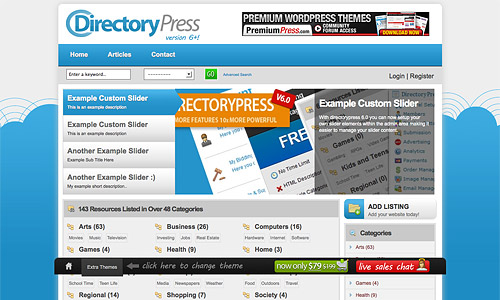 directorypress wordpress theme