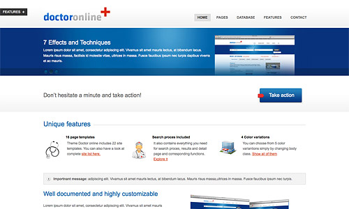 doctor online wordpress theme