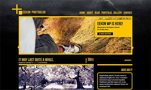 eekon photoblog wordpress theme