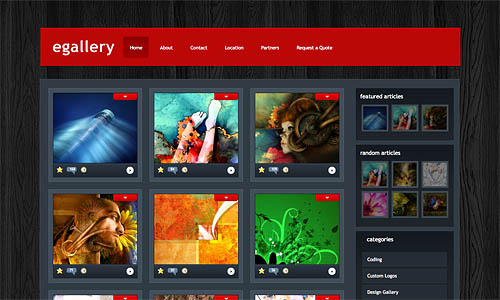 egallery wordpress theme