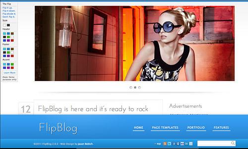 flipblog wordpress theme