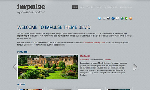 impulse wordpress theme
