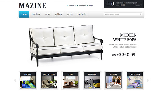 mazine wp ecommerce wordpress theme