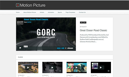 motion pictures wordpress theme