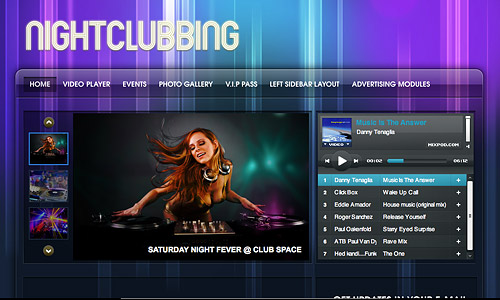 nightclubbing wordpress theme