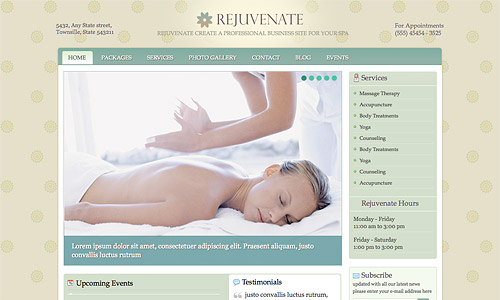 rejuvenate wordpress theme