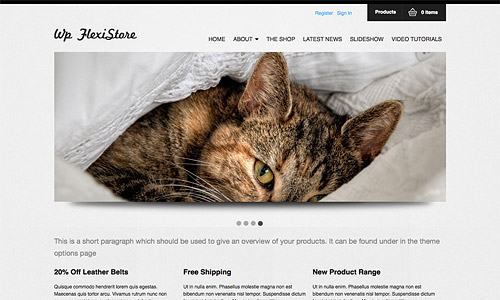 wp flexishop wordpress theme