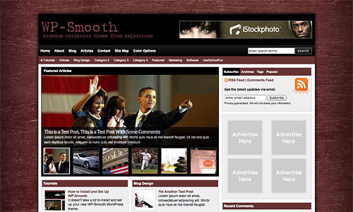 wp smooth wordpress theme