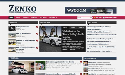 zenko wordpress theme