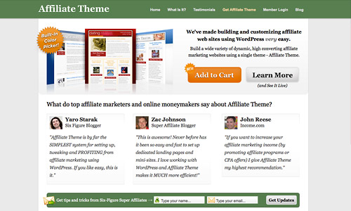 affiliate theme coupon discount
