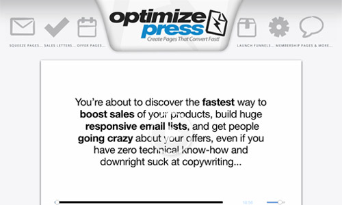 OptimizePress theme count discount