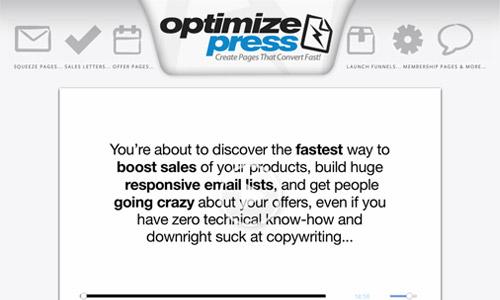 OptimizePress theme count discount
