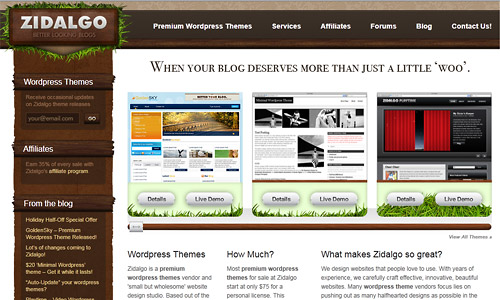 Zidalgo Themes count discount