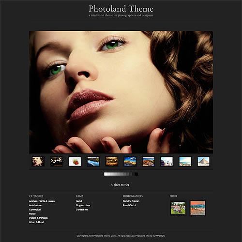 Photoland WordPress Theme