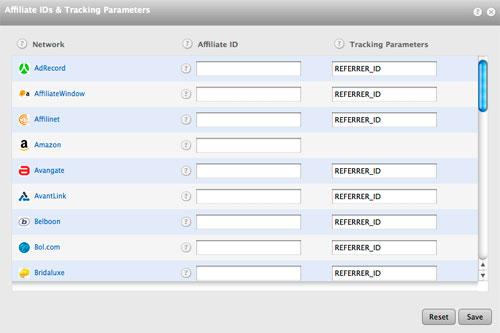 datafeedr merchant id