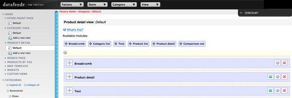 datafeedr product list