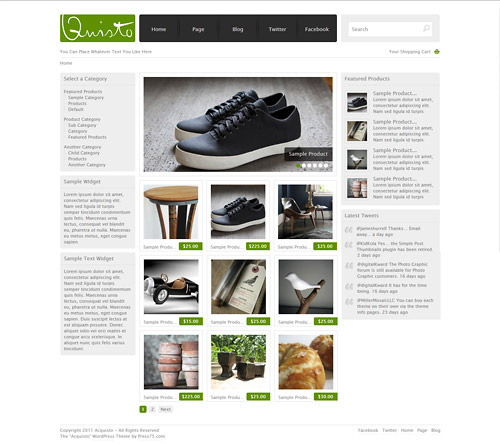 acquisto wordpress theme