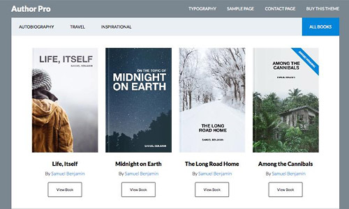 author pro for wordpress