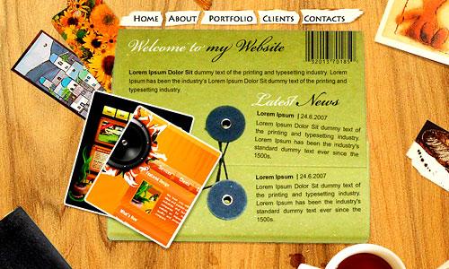 website size