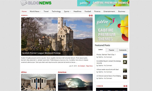 blognews wordpress theme
