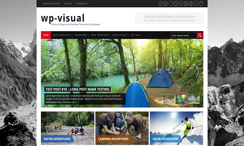 wp-visual wordpress theme