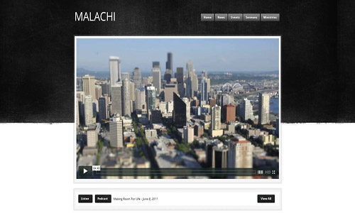 malachi wordpress theme