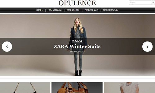 opulence wordpress theme