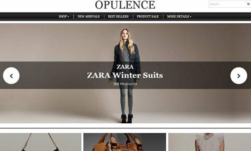 opulence wordpress theme