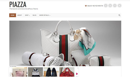 piazza wordpress theme