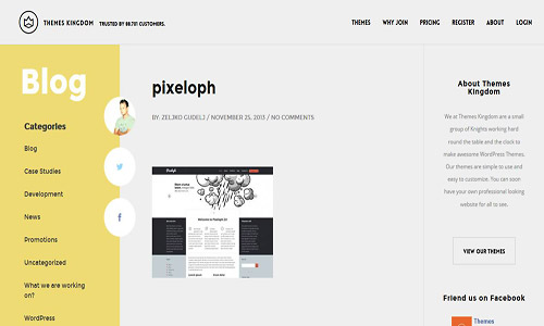 pixeloph wordpress theme