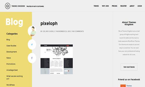 pixeloph wordpress theme