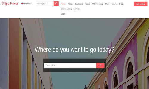 spot finder wordpress theme