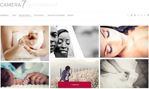 camera7 wordpress theme