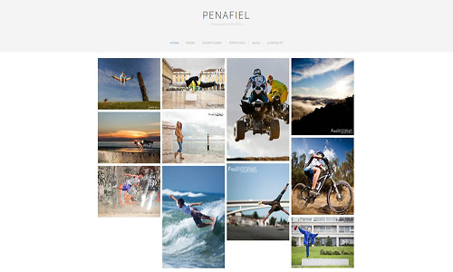 penafiel wordpress theme