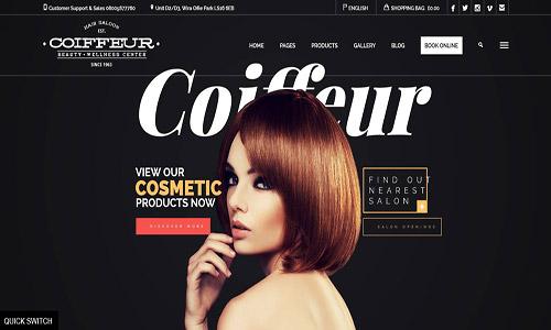 coiffeur wordpress theme