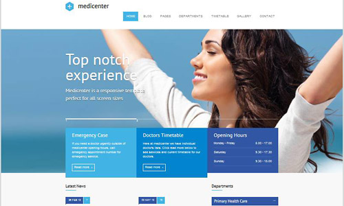 medicenter wordpress theme