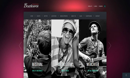 beatheaven wordpress theme