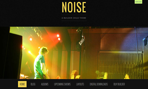 noise wordpress theme