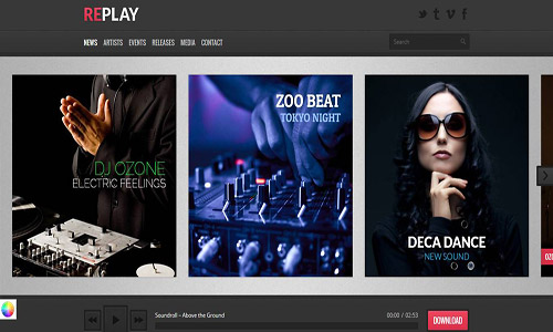 replay wordpress theme