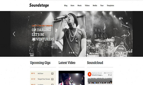 soundstage wordpress theme