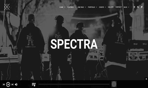 spectra wordpress theme