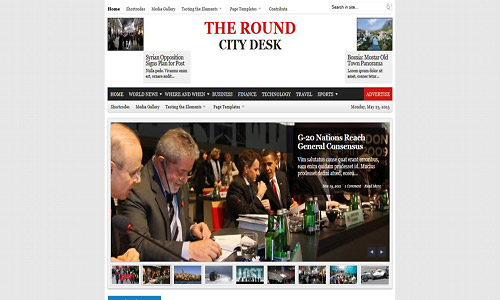 city desk wordpress theme