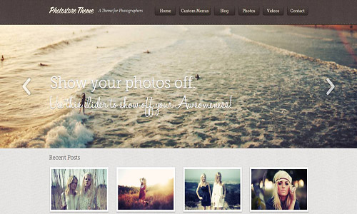 photostore wordpress theme